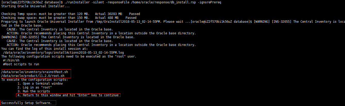linux安装Oracle11G